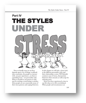 Personality Lingo Chapter 5 Personality Under Stress