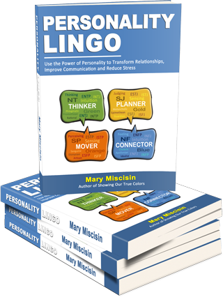 Personality Lingo Book Stack Mary Miscisin