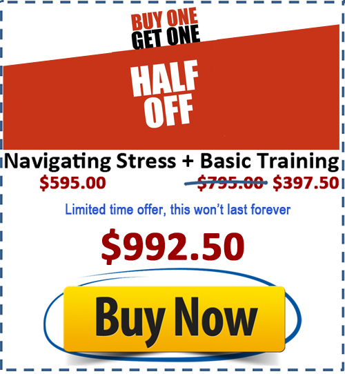 BOGO personality training kit and stress training kit